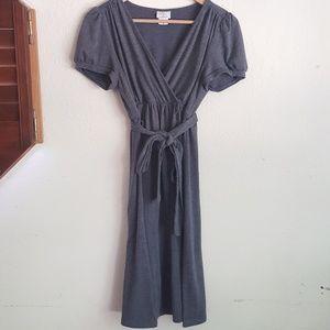 SALE Oh Baby By Motherhood Gray Soft Dress
